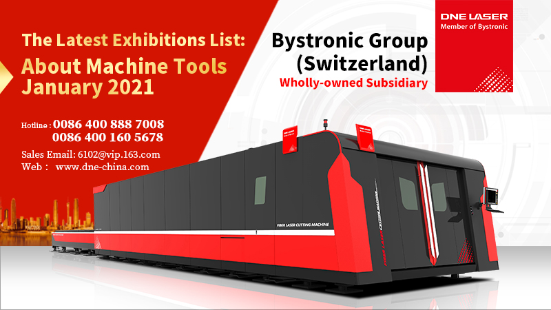 Global Machines-Tools Tools Trade shows in January 2021