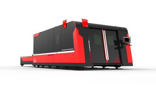 D-WIN High Power Fiber Laser Cutting Machine
